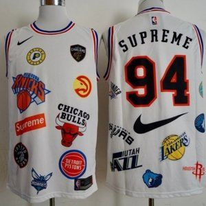 New Authentic Supermen NBA Basketball Jersey